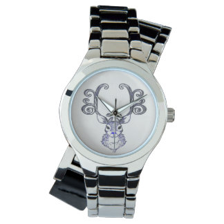 Bluenoser Blue nose Reindeer cute deer watch