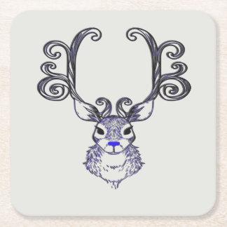 Bluenoser Blue nose Reindeer cute party coaster