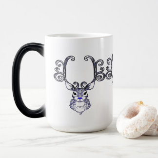 Bluenoser Blue nose Reindeer deer  coffee cup