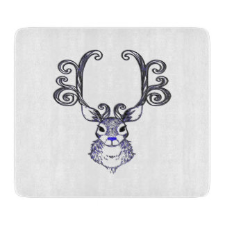 Bluenoser Blue nose Reindeer deer cutting board