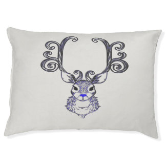 Bluenoser Blue nose Reindeer deer dog bed