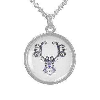 Bluenoser Blue nose Reindeer deer necklace