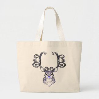 Bluenoser Blue nose Reindeer deer   tote bag