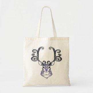Bluenoser Blue nose Reindeer deer   tote bag