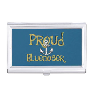 Bluenoser Nova Scotia anchor business card holder