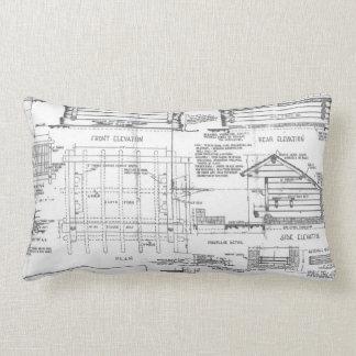 Blueprint for Lean To Lumbar Pillow