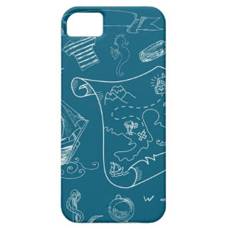 Blueprint Nautical Graphic Pattern Case For The iPhone 5