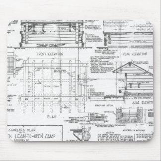 Blueprints Mouse Pad