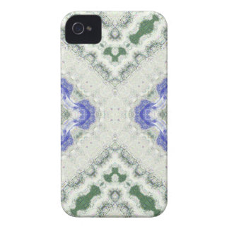 Blues and Greys iPhone 4 Case