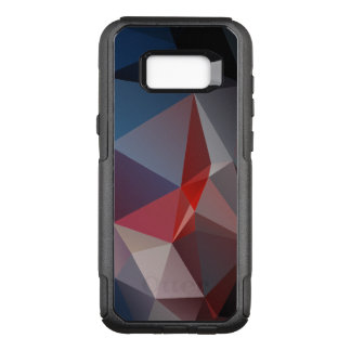 Blues and Reds Abstract Pyramid Art OtterBox Commuter Samsung Galaxy S8+ Case