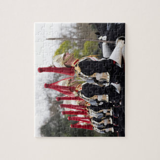 Blues And Royals Cavalry Jigsaw Puzzle