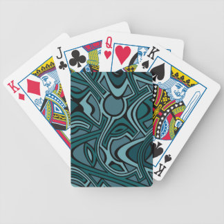 Blues Bicycle Playing Cards