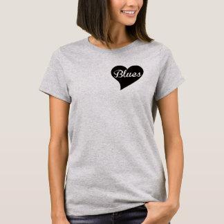 Blues Big Heart, Cloud T-Shirt