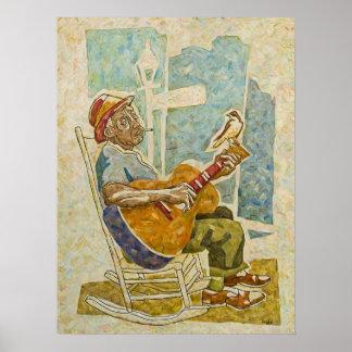 """Blues Bird"" Print"