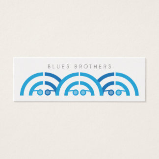 Blues Brothers Sound People Mini Business Card