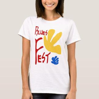 Blues Fest Matisse Style T-Shirt