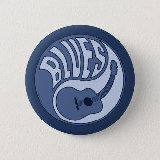 Blues Guitar Yin Button