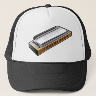 Blues Harmonica - Hat