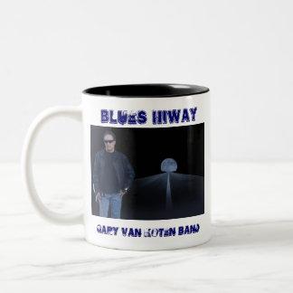 Blues Hiway 1 Two-Tone Coffee Mug