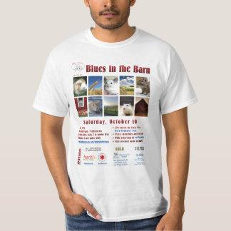 Blues in the Barn Tshirts