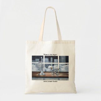 Blues in the Night Tote Bag