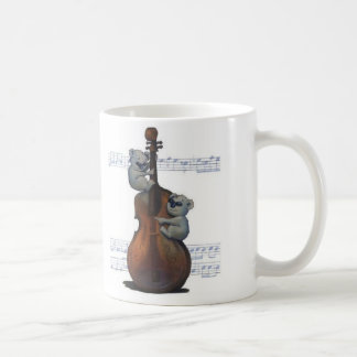 """Blues Koalas"" by Suzi German Coffee Mug"