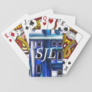 blues poker deck