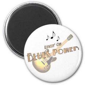 Blues Power Magnet