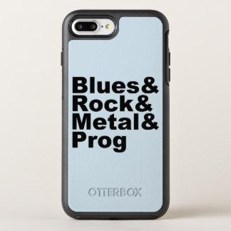 Blues&Rock&Metal&Prog (blk) OtterBox Symmetry iPhone 8 Plus/7 Plus Case