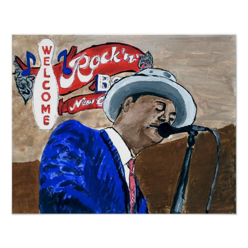 Blues Singer Posters
