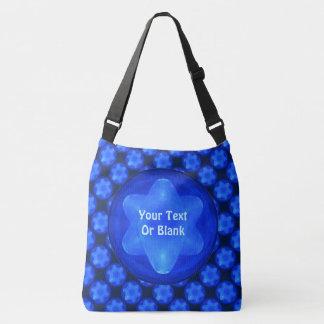 Bluestar Fractal Magen Crossbody Bag