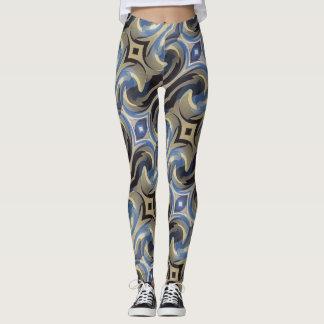 Bluetan Swirl Leggings