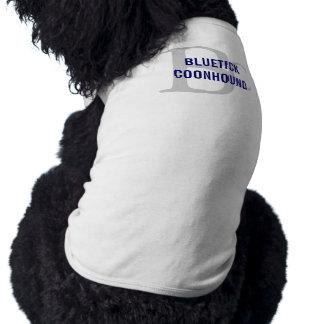 Bluetick Coonhound Breed Monogram Doggie T Shirt