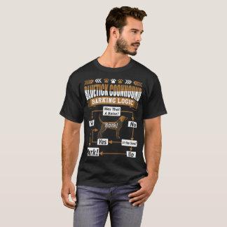 Bluetick Coonhound Dog Barking Logic Tshirt