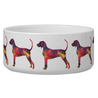 Bluetick Coonhound Dog Geometric Silhouette