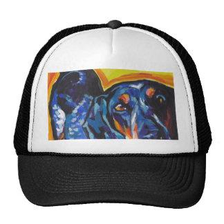 Bluetick Coonhound Pop Art Trucker Hat