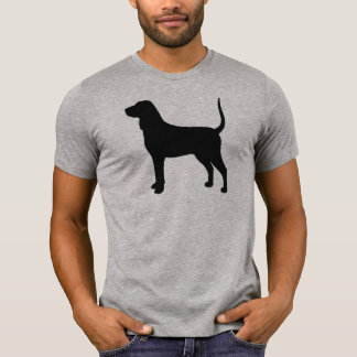 Bluetick Coonhound Silhouette T-Shirt