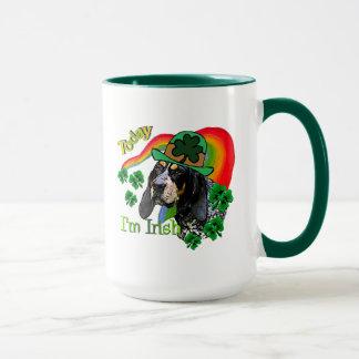 Bluetick Coonhound St Patricks Mug
