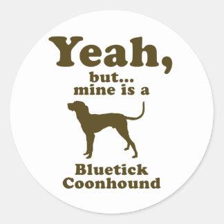 Bluetick Coonhound Stickers