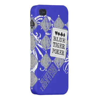 BlueTigerPoker Iphone Case