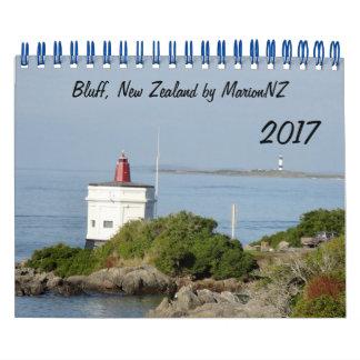 Bluff Coast Calendar
