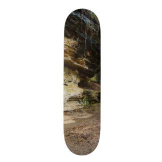 Bluff Lined Walkway Custom Skate Board