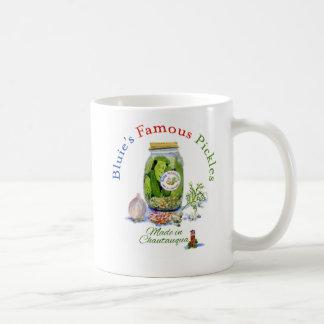 Bluie's Famous Jar of Pickles mug