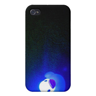 Bluing LED Duckie No 1 Case For iPhone 4