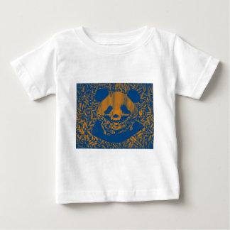 Bluish Yellow Gangsta Panda Baby T-Shirt