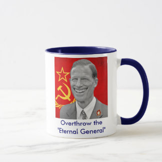 "Blumenthal -Overthrow the ""Eternal General"" (blue) Mug"
