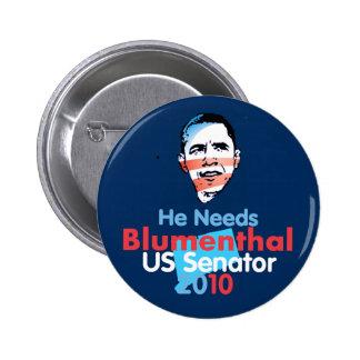 BLUMENTHAL Senate Button