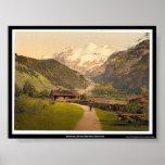 Blümlisalp, Bernese Oberland, Switzerland Poster