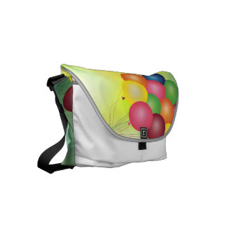 Blur balloons commuter bag