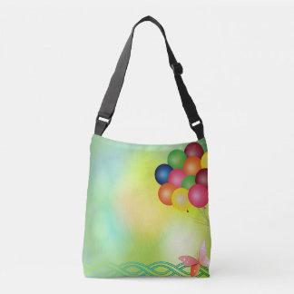 Blur  balloons crossbody bag